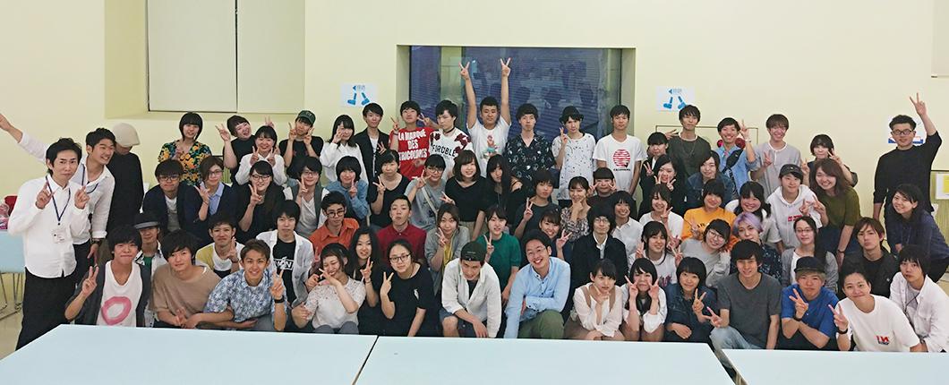 学生会の集合写真